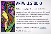 Art Classes (drawing, painting, clay) for all ages