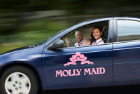 Molly Maid East and South are HIRING FULL TIME