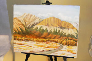 Original Oil Painting on Canvas by Marianne Norris