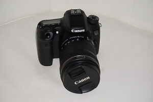Canon EOS 70D with 18-135mm lens kit