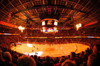 4 IN A ROW Flames v Canucks 2nd Level ROW 15 CENTER ICE