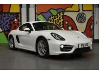 2014 PORSCHE CAYMAN 2.7 981 COUPE PURE WHITE ONLY 15,650 MILES