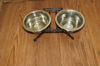 Double Dish Set with Stand
