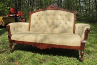 Antique Settee and 2 Matching Chairs