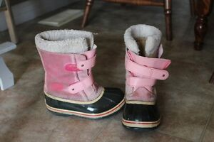 Girs Size 13 Sorel Winter Boots