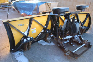 """2014 Fisher Storm Guard Extreme-V  9'6"""" Snow Plow"""