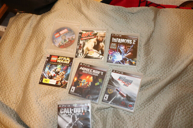 Ps3 (playstation 3 60gb) with games & a lot more