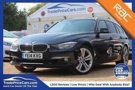 2014 14 BMW 3 SERIES 3.0 330D XDRIVE LUXURY TOURING 5D AUTO 255 BHP DIESEL
