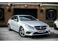 2015 Mercedes-Benz E-CLASS 2.1 E220 BLUETEC SE 2d AUTO 174 BHP Coupe Diesel Auto