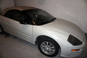2001 Mitsubishi Eclipse GS Convertible