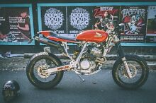 2003 Honda XR400R Cafe Racer Motard Scrambler RWC LAMS Ashburton Boroondara Area Preview