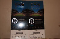 2 Grey Cup 103 tickets [Gate 2][Section 210][Row 20][Seats14-15]