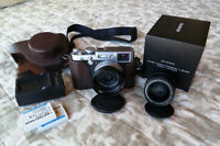 Fuji x100 and wide angle converter lens