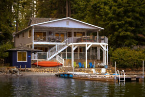 13 Miles From Silverwood! Lake Front Home in North Idaho