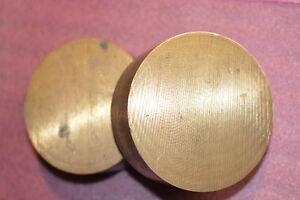 Large Round Brass Anvil - REDUCED PRICE