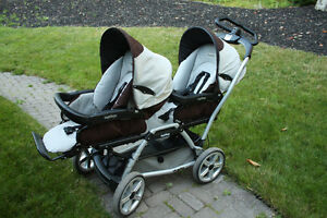 Peg-Perego Duette stroller for two kids