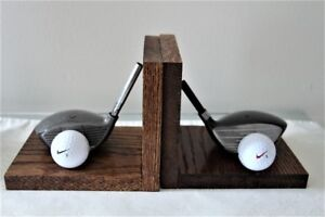 GOLF BOOK-ENDS EXCELLENT CONDITION