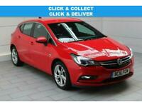 2016 Vauxhall Astra 1.0i Turbo ecoFLEX SRi Nav (start/stop) Hatchback Petrol Man