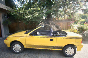 QUICK SALE - CHEVY SPRINT CONVERTIBLE