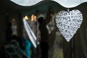 Wicker Hearts - Wedding