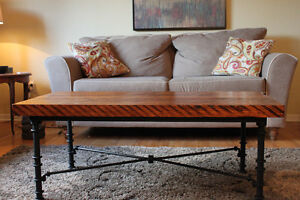 Beautiful up-cycled coffee table