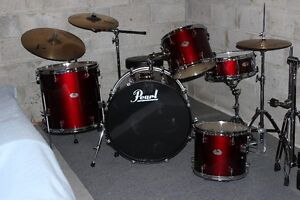 Pearl Forum Series Drumset & Extras