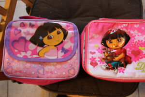 Super cute Dora lunch bags original Dora the Explorer-LIKE NEW
