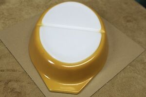 Pyrex ButterflyGold Divided Oval Casserole Lid 1.5qt Collectable Kingston Kingston Area image 6