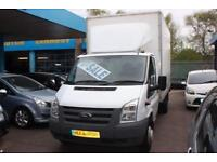 2010 60 FORD TRANSIT LUTON 2.4 350 EXTENDED FRAME LWB TAIL LIFT LOW MILES