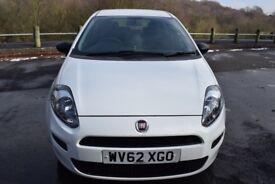 Fiat Punto 1.3 16v MultiJet 75 Pop (white) 2013