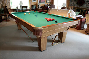 NEW PRICE!!! NOW $1500! Brunswick Dakota Slate Pool Table & Acc.