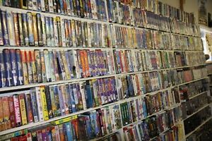 Over 200 VHS Movies - all types