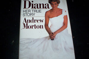 hard cover book Princess Diana Her True Story
