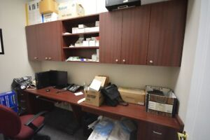 Double Desk Office Furniture - Cabinets, Crdnzas, Shelving,Table