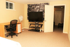 Elegant Furnished Basement- Great Location-All inclusive London Ontario image 3