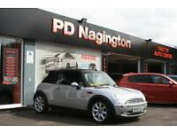 2007 MINI CONVERTIBLE 1.6 Cooper + FULL BLACK LEATHER + REAR PARKING SENSORS