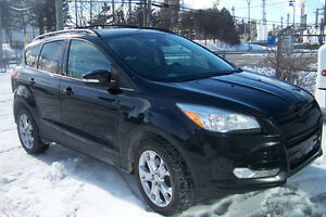 2013 FORD ESCAPE SEL 2.0L  ECOBOOST 4WD CUIR