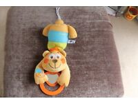Chicco up n down musical bear crib toy £4