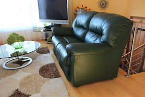 3 pc.Leather sofa set