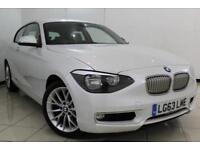 2013 63 BMW 1 SERIES 2.0 120D URBAN 3DR 181 BHP DIESEL