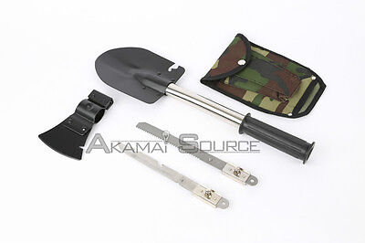 New Camping & Hiking Gear Kit Tools Ultimate Survival Knife Shovel Axe Emergency