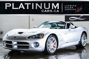 2005 Dodge Viper SRT 10 / CONVERTIBLE/ 500 HORSEPOWER