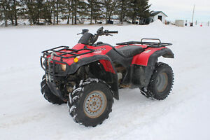 honda 350 4x4 quad!