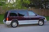 10th Year Limited Edition 1994 Plymouth Voyager
