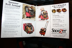 New Snoozer dog carrier /  cat carrier roll around 4-in-1