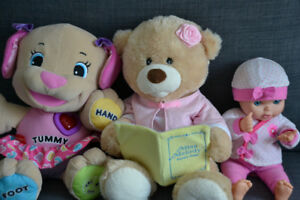 Baby/Toddler Items - Feeding, Changing, Crib, Books, Toys etc.