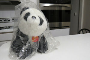 Andy Panda Bear plush bank