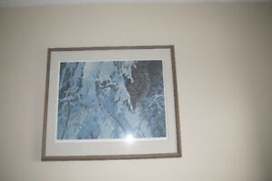 Robert Bateman Owl print