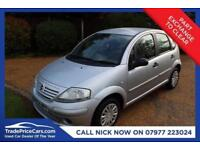 CHEAP CAR - 2004 54 CITROEN C3 1.4 DESIRE 5D 73 BHP