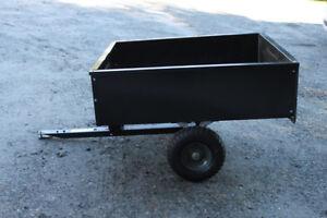 Agri Fab Tow Behind Metal Dump Cart/Trailer - like new